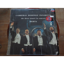 Laser Disc The 3 Tenors In Concert - Roma 1990