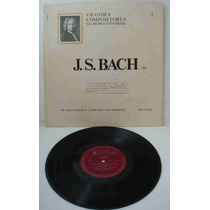 Grandes Compositores Da Música Univers Ed Abril Lp J.s. Bach