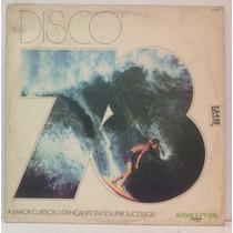 Lp Disco 78 - A Maior Curtição Dançante Em 12 Super Sucessos