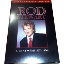 Dvd Rod Stewart Raro = Live In Wembley 1976 Ao Vivo Em Uk 76