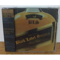 Cd Black Label Society Sonic Brew Japão Obi Zakk Wylde 1998
