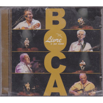 Boca Livre - Cd Livre E Ao Vivo - 2007 - Lacrado De Fábrica