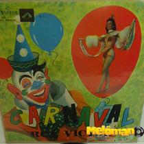 Va 1957 Carnaval Rca Victor Lp Linda Baptista, Trio De Ouro