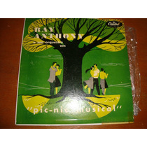 Ray Anthony, Pic Nic Musical, Lp 10 Pol, The Continental.,,,