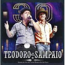 Cd Teodoro E Sampaio - 30 Anos - Lacrado