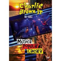 Charlie Brown Jr. - Musica Popular Caicara- Dvd Raro Novo