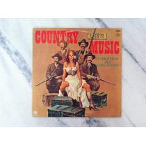 Disco (vinil) Country Music O Melhor Do Far-west (coletânea)