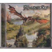 Cd Rhapsody - Symphony Of Enchanted Lands 2 ( Rock Brigade )