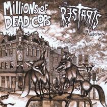 Cd Split Millions Of Dead Cops + The Restarts Importado Punk
