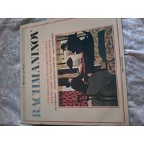Disco De Vinil Lp Mestres Da Música Rachmaninov