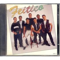 Cd Grupo Feitiço (rge 1996) Com Amor Perfeito , Meu Viver