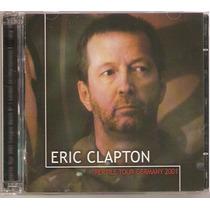 Cd Eric Clapton - Reptile Tour 2001 ( Duplo Italiano )