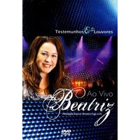 Dvd Beatriz - Testemunho E Louvores (2010) Lacrado Raridade