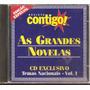 Cd - As Grandes Novelas - Temas Nacionais Vol. 1