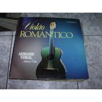 Lp Armando Vidigal Violão Romantico