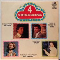 Compacto Vinil 4 Sucessos Nacionais - 1981 - Rge
