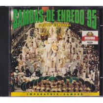 Cd Sambas De Enredo Carnaval 95 Grupo Especial - Rio