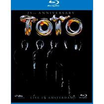 Toto Live In Amsterdam-25th Anniversary-blu-ray Raro Novo