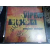 Cd-viper-the Best Of,ex Angra.autografado.