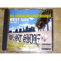 Cd Da Underground Sound West Side 2(96) Coolio Ice Cube Bone