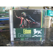 Cd Duplo Edson Gomes - Ao Vivo ( Salvador-bahia ) Raríssimo