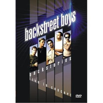 Dvd-backstreet Boys-backstories Live In Concert