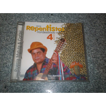 Cd - Teo Azevedo Serie Repentistas Nordestinos Vol.4