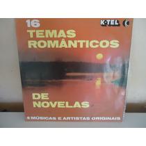 Disco De Vinil - 16 Temas Românticos De Novelas