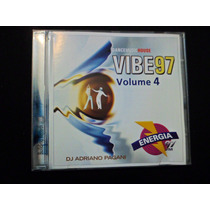 Cd Vibe 97 Vol. 4 Carolina Marquez Flash House Dj 80 90