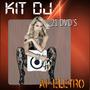 Kit Dj - Sets Completos - 21 Dvds Atualizado Diariamente