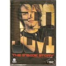 Dvd, Bon Jovi Inside Story ( Raro) - Outro Lado Da História
