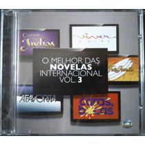 Cd O Melhor Das Novelas Internacional Vol. 3