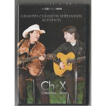Kit Dvd Chitãozinho E Xororó-acústico (dvd+2 Cd