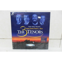 Laserdisc - The 3 Tenors - In Concert - S/ Uso (lacrado)