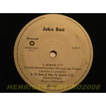 Juke Box Compacto Leandro E Leonardo Bruno E Marrone Daniel