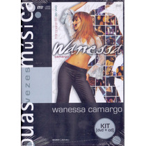 Dvd+cd Wanessa Camargo - Transparente Ao Vivo - Novo***