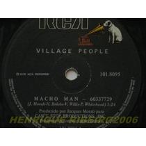 Village People Compacto 7 Macho Man