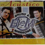 Bruno & Marrone - Acústico - Cd - Frete Grátis