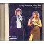 Cd Cauby Peixoto E Selma Reis - Vozes - 2004 - Ao Vivo