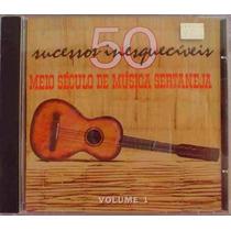 Cd Meio Seculo De Musica Sertaneja Vl 3