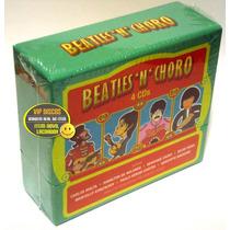 Box Beatles N Choro - 4 Cds Projeto De Renato Russo Legião