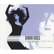 Cd Diana Ross Not Over You Yet Single