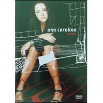 Dvd Ana Carolina - Estampado - Com Seu Jorge - Frete Gratis