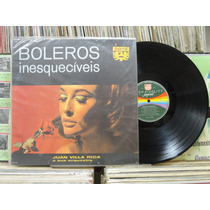 Juan Villa Rica Orquestra Boleros Inesquecíveis- Lp Imperial