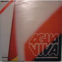 Trilha Novela Água Viva - Internacional - 1980