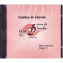 Cd Sambas De Enredo - Carnaval De 1998 - São Paulo - Duplo