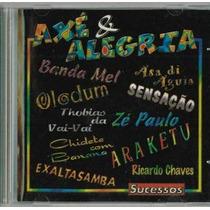 Cd Axé E Alegria - Sucessos (25082)