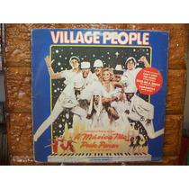 Vinil Lp Trilha Son. A Música Não Pode Parar -village People