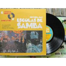 História Das Escolas De Samba Vol.4 - Lp 10 Pol C/livreto