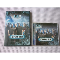 Cpm 22 - Mtv Ao Vivo Dvd E Cd